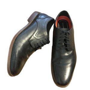 Rockport Trutech Black Leather Oxfords-  11.5